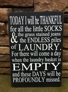 Today I Will Be Thankful Sign by SimplyBSignsnSuch on Etsy.