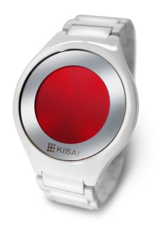 Watches // The Kisai On Air Acetate is a minimal watch design available exclusively from Tokyoflash Japan. Made of Acetate, this watch is a multi-functional design with touch screen technology. It displays the time and date and has an alarm mode and animation.