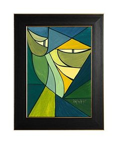 "EINGERAHMTER KUNSTDRUCK ""YELLOW CAT"" MARACHOWSKA ART von MARACHOWSKA ART, http://www.amazon.de/dp/B00LIUHVOE/ref=cm_sw_r_pi_dp_pjOTtb1B15YRS"