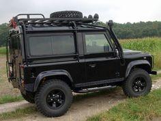 Land Rover Defender Zubehör: Safety Devices Überrollkäfig Land Rover Defender 90