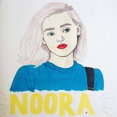 Noora from SKAM