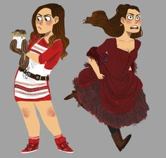 me: i've got so many things to do im so stressed and anxious and aaahhhh me: but what if i drew every clara outfit ever