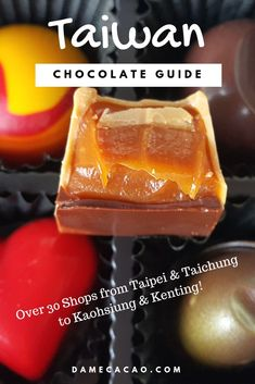 of the Best Chocolate Shops in Taiwan (Map Included) After exhaustive research, tasting, and touring, I've come up with the top 31 chocolate shops all across Taiwan. Wondering where to eat the best Taiwanese chocolate? Chocolate Shop, Best Chocolate, Chocolate Desserts, Taiwan Travel, Asia Travel, Thing 1, Best Dishes, Best Places To Eat, International Recipes