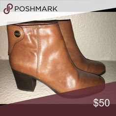Coach booties Great boots for any outfit, some wear on the soles. Coach Shoes Ankle Boots & Booties