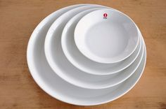 Teema white Scandinavian, Tableware, Dinnerware, Tablewares, Dishes, Place Settings