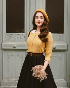 Moda Vintage, Vintage Rock, Looks Vintage, Modest Outfits, Modest Fashion, Fashion Dresses, Pretty Outfits, Pretty Dresses, Cool Outfits