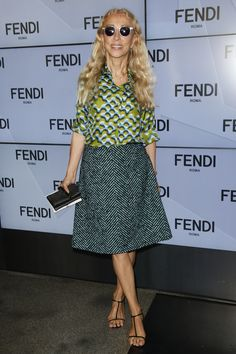 Fendi Spring 2016 Ready-to-Wear Front Row Celebrity Photos - Vogue