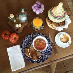 Andalusian Breakfast by Andrew Forbes  www.Andalucia.Diary.Com #luxestyletravel #luxurytravelpursuits