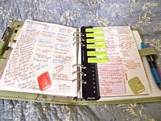 This is exactly what I do with my Filofax ruler... because it's perfect for sticking temporary tasks to which can then be whipping off and chucked when complete, or re-ordered to make more sense. Love it when people think like me :)