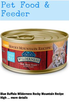 (This is an affiliate pin) Flavor Name:Rocky Mountain Recipe Flaked Red Meat|Size:5.5 oz (Pack of 24)A truly unique combination of beauty and pure physical grace, the lynx has roamed the American West for centuries. Today the stealth and spirit of this tireless hunter lives in all of our feline companions. Canned Cat Food, Food Feeder, Lynx, High Protein, Rocky Mountains, Flakes, Grain Free, Buffalo, Grains