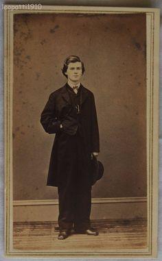 Horace F. Mills, born in 1847.  Photo taken in 1866.