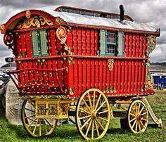 Gypsy Caravans, Has a Circus Feel!