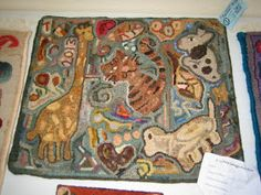 The Grinning Sheep Blog by Kathy of Briarwood Folk Art: Looped Out