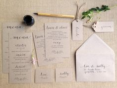 wedding calligraphy Archives »