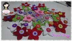 Chaveiros florzinhas