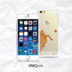 Transparent clear case for iPhone 6 4.7 iPhone 4/4s by Uniqstyle, $9.95