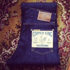 Warehouse / Copper King CK-99 Jeans!