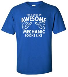 Gifts for Mechanic  Awesome Mechanic  Car Gifts  Car Tshirt