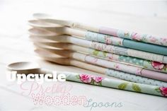 Upcycled Old Wooden Spoons. Get the tutorial