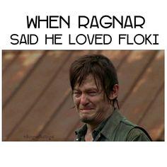 Literally me ❤ • #vikings #historyvikings #floki #ragnarlothbrok