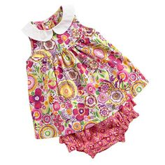 Dress and Bloomers in Clementine, $42 | Vera Bradley