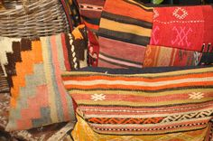we have many vintage rug pillows in stock. bungalowaz.com