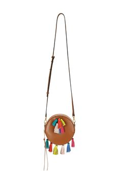 Round Sofia Crossbody - Just pure fun—this crossbody is the perfect pick when you're walking on festival grounds, or just wanting to channel a bit of that spirit into your every day.