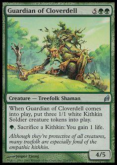 Guardian Of Cloverdell - Creature - Treefolk Shaman - Tree - Green - Lorwyn - Magic The Gathering Trading Card