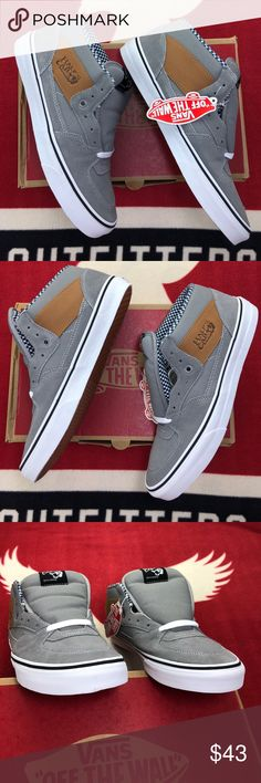 Vans Half Cab Waxed Canvas Frost Grays  Vans The Half Cab 434572634