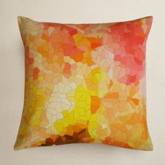 Mosaic Cushion Cover 40x40 I, £32, now featured on Fab.