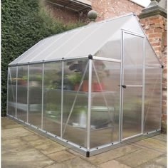 Sa Lahat Na Layunin Pagkatapos Cases Tunnel Greenhouse, Lean To Greenhouse, Greenhouse Gardening, Commercial Greenhouse, Sensitive Plant, Snug Harbor, Polycarbonate Panels, Roof Vents, Cold Frame