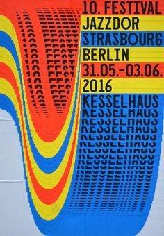 [Idea: glitch screen window drag] Jazzdor Strasbourg Berlin 2016 posters