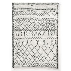 Afaw Berber Style Rug La Redoute Interieurs The rug to end all rug searches, the Afaw adds impeccable style to any room and every space. We call it THE La Redoute Rug as its one of our most. Tapete Shaggy, Shaggy Rug, Rattan Lampe, Black White Rug, Pure White, Weaving Techniques, Berber Rug, Contemporary Interior, Cool Rugs