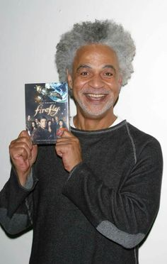 """Ron Glass played Shepherd Derrial Book in 'Firefly"""" series and """"serenity"""" movie. Ron Glass, Firefly Cosplay, Firefly Serenity, Serenity Movie, Shepherd Book, Firefly Series, Barney Miller, Nathan Fillion, Joss Whedon"""