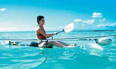 Transparent canoe-kayak | wordlessTech