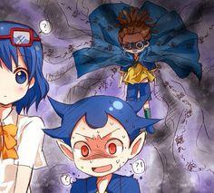 #anime #inazumaeleven #kogure #haruna #kido #yuuto #kidoyuuto #brothers #funny #celos #nagry