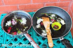 Messy Little Monster: Simple Outdoor Mud Kitchen for Kids