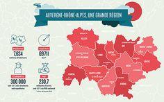 1er janvier 2016 : Auvergne-Rhône-Alpes, une Région unie dans la diversité