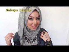 احدث ستايلات حجاب لفات حجاب سواريه ستايل New 2015 hijab styles and tutorial  2015 - YouTube