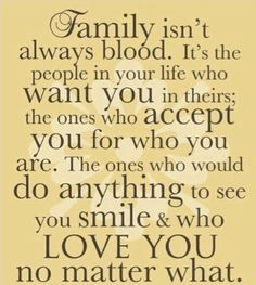 What real family is.....