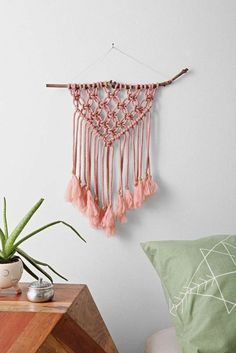 Interesting ideas for decor: MACRAME IDEAS... Макраме.