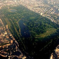 Hyde Park covers an area of 625 acres, split into two pieces – Hyde Park forms the eastern half (350 acres). Anything west of the Serpentine is known as Kensington Gardens (275 acres).  The park was the site of the Great Exhibition in 1851, and is also known for Speakers Corner.  During the time of the Suffragetes, protests were held in the park
