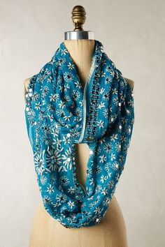 Spangled Garden Infinity Scarf - anthropologie.com #anthroregistry