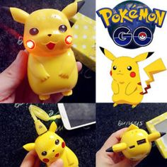 The perfect power bank to juice up your phone while on the Pokemon chase ! N…