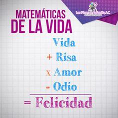 #Matemáticas de la #vida