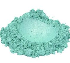 Sea Man - Aqua Blue Loose Mineral Eye shadow 3g Jar Eyeshadow or Eyeliner Light Baby Blue Luster low Sparkle Vegan Makeup by DirtyGlamCosmetics on Etsy