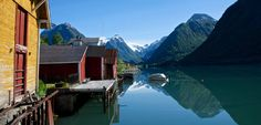 The Sognefjord area