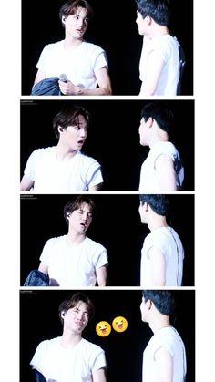 Whats wrong with your expresion? Kaisoo, Chanbaek, Exo Ot12, Kyungsoo, Chanyeol, Exo Couple, Xiuchen, Exo Do, Do Kyung Soo