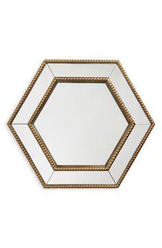 Era Home 'Gold Hexagon' Mirror