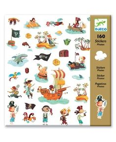 Stickers Pirates - Djeco